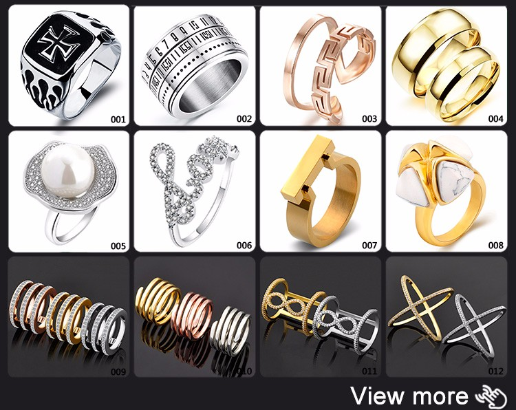 Best Selling Products 2018 Jewellery Fashion New Gold Ring Models For Men
