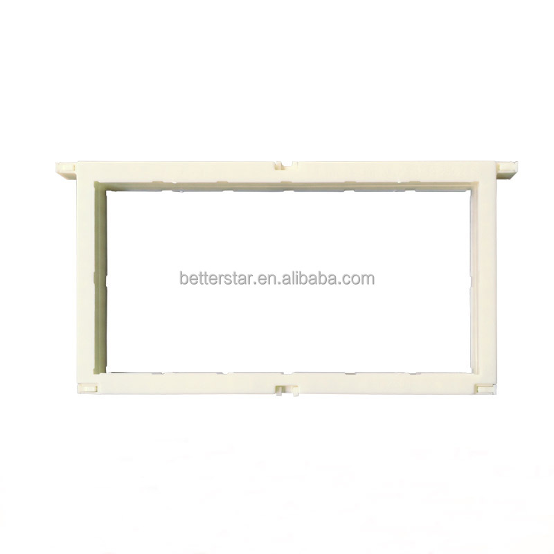 Bulk 250g plastic honey comb frame