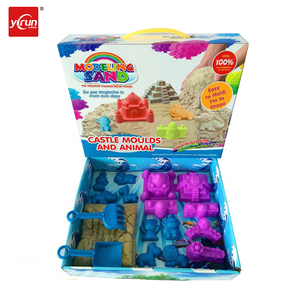 CT021987 kids toys surprise sand castle molds toy educational magic sand
