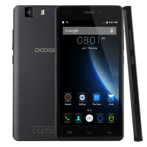 Hot sale 2g ram android phone DOOGEE X5 Pro 5.0 inch Android 5.1 Smart Phone, MT6735 Quad Core 1.0GHz