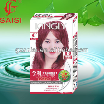 Saisi Safe Formula New Plant Essence Magic Hair Color Dye - Buy ...