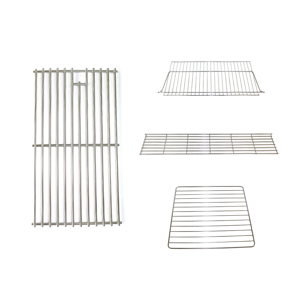 Factory custom make stainless steel barbecue metal baking cooking cooling grid replacement oven bbq wire grill rack