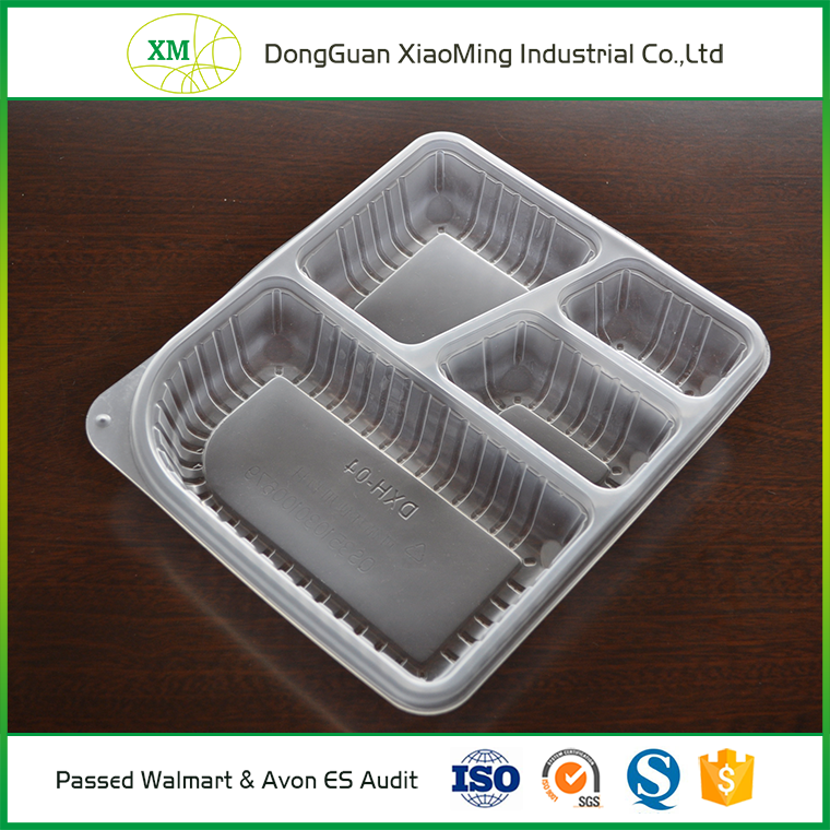 Hot sale Customized biodegradable food packaging trays / food packaging container