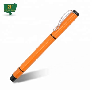 Muti-functional Cap Metal Double Sided Pen With Highlighter