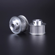 Customized low price aluminium timing pulley gt2 pulley 80 140t