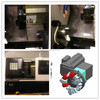 HHT TCK-40L/TCK-45L/TCK45H cnc lathe machine center, cnc lathe slanting bed