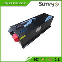 Low frequency solar power inverters 6kw 24v 48vdc to 220vac work with solar system solar panels
