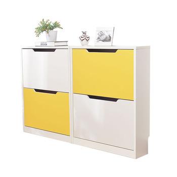 Modern Shoe Rack Cabinet With Doors In