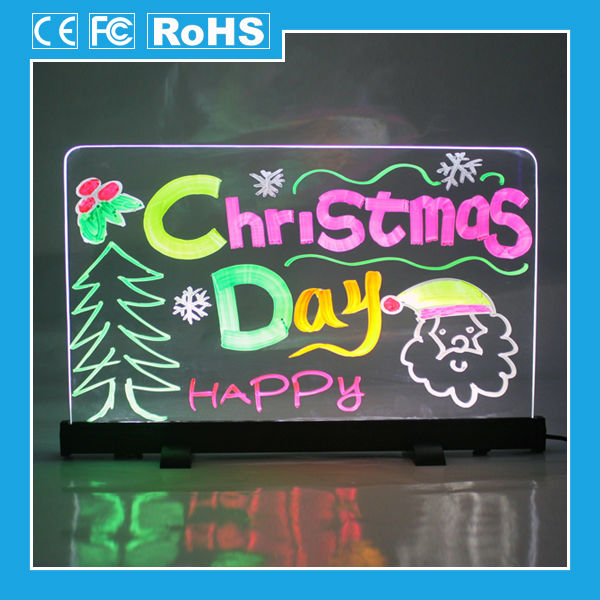 Desk top Led Drawing Billboards