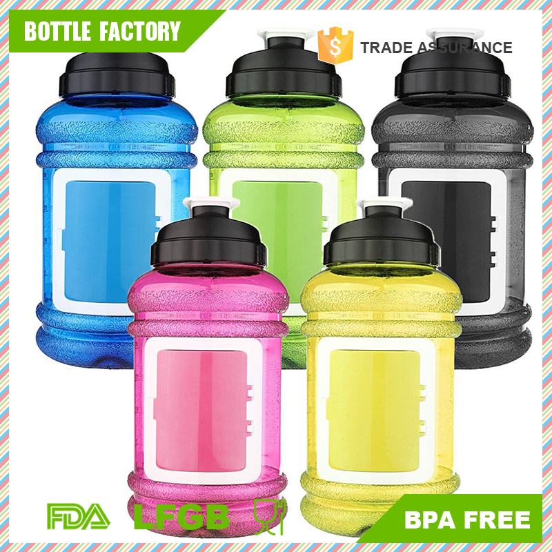 2.2L BPA Free Big Capacity Workout Sports Water bottle for Sport Gym Training Camping
