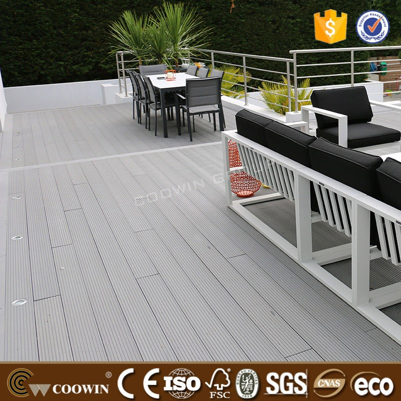 Recycled plastic lumber wood plastic composite decks wood for Recycled decking boards