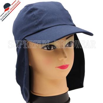 9547ed53016b4 custom unisex headwear outdoor flap back neck cover blank legionnaire hat