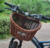 high-end retro willow bike basket