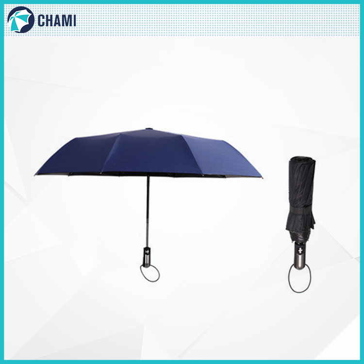 Wholesale great material sturdy construction promotional umbrella automatic 3 fold