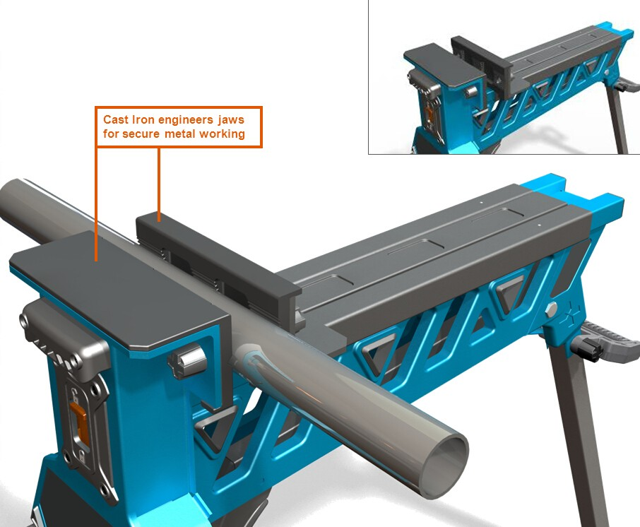 Portable Clamping Table Table Design Ideas