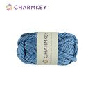 Super Soft Charmkey Natural Wool Blended Yarn Chunky Fancy Knitting Yarn for Crochet Sweater and Scarf