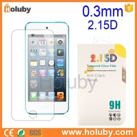 Wholesale supplier for ipod touch 5 tempered glass screen protector customized