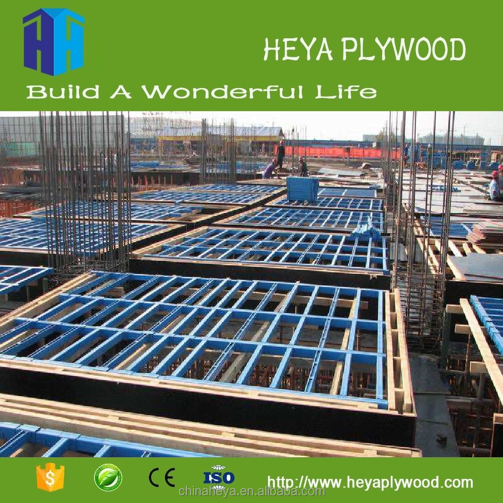 Kuwait okoume plywood plastic formwork used for construction ply wood
