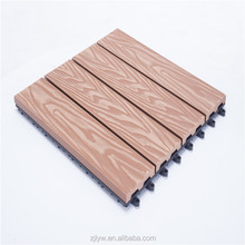 LYW promotional cost-effective wpc wood plastic composite diy tiles