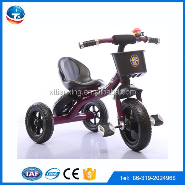 2016 New model Children's Three Wheels Pedal tricycle eec trike three wheels Baby tricycle for sale/kids kid tricycle trike/