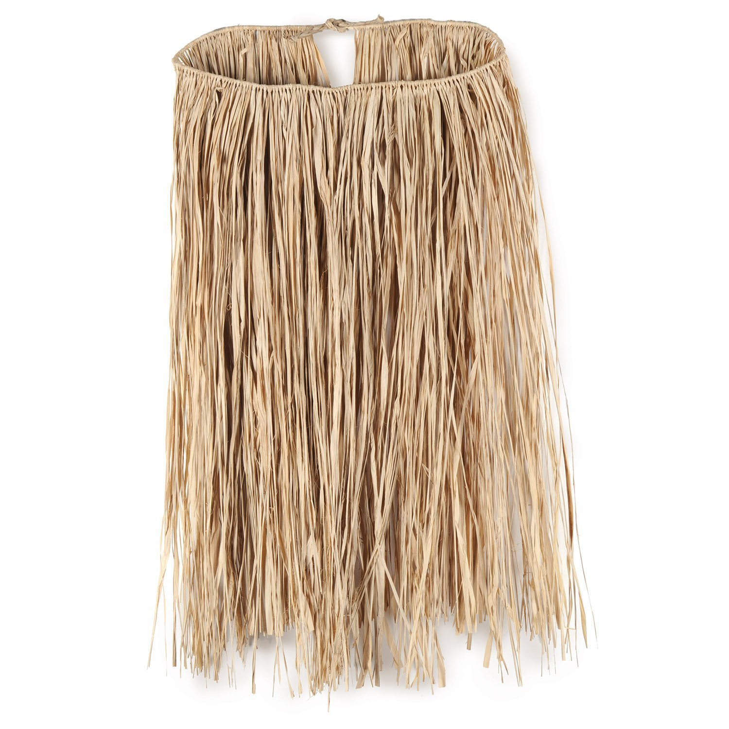 Adult Raffia Hula Skirt (natural) Party Accessory (1 count) (1/Pkg)