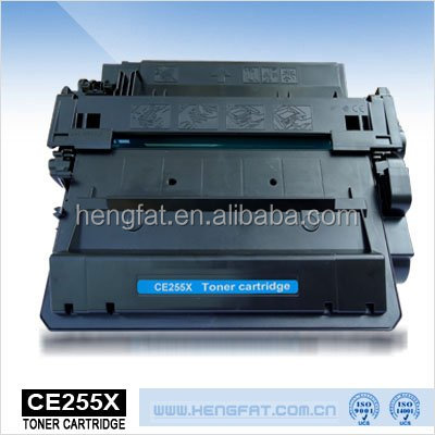 CE255X Compatible Toner Cartridge 55X for HP Printer Series, 24 years factory experience in China