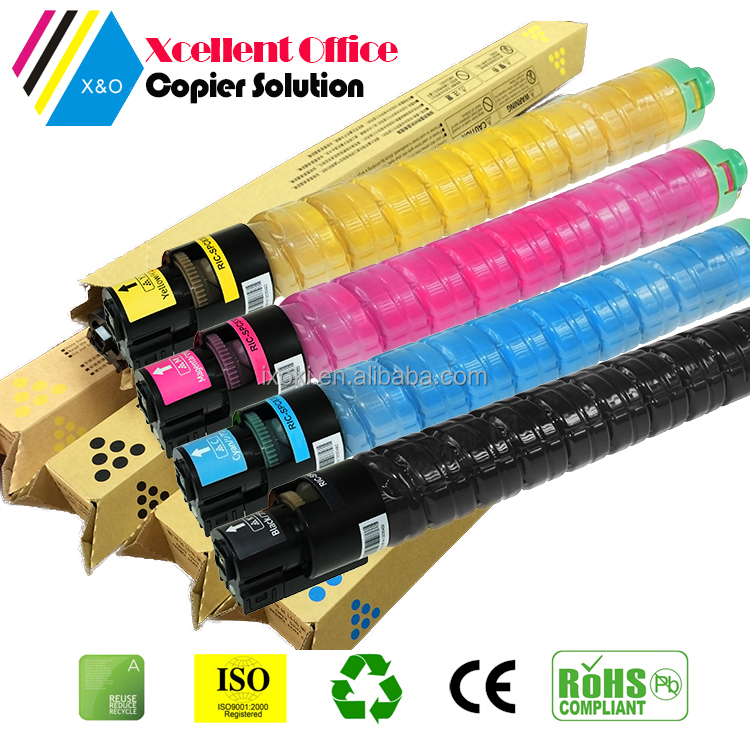 Genuine compatible Ricoh MP C3002 toner cartridge, ricoh MPC3002 toner kit, color toner for ricoh c3002