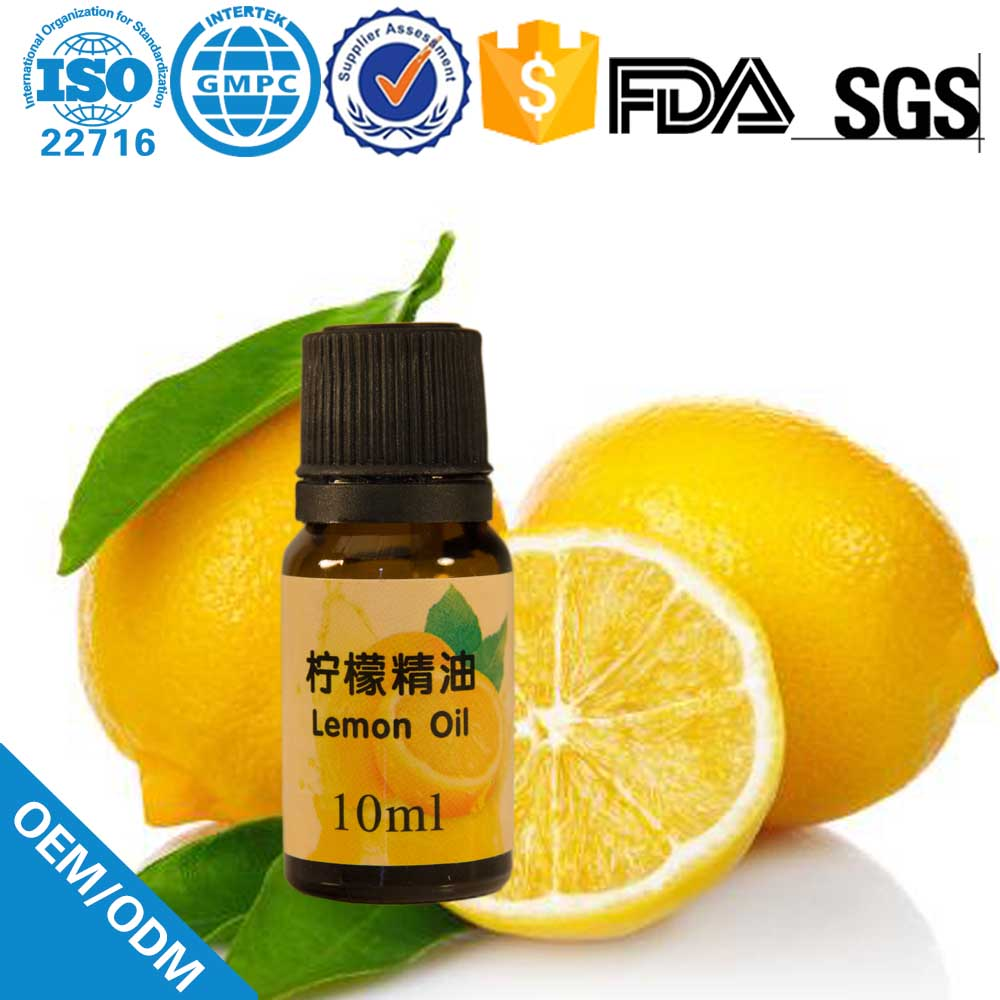 natural Plant extract lemon oil for aromatherapy and Medical Grade