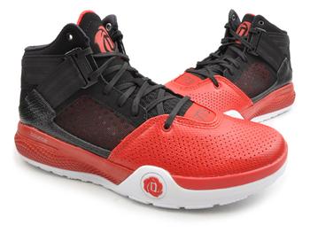 differently 6a7e2 bc1e6 Adidas D Rose 773 IV 4 baloncesto Zapatos rojo negro