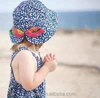 Custom printed or embroidered kids bucket hat sun protection hats