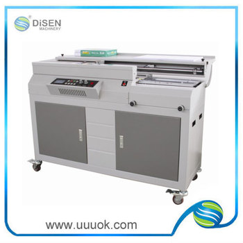High precision side glue 50R perfect binding machine