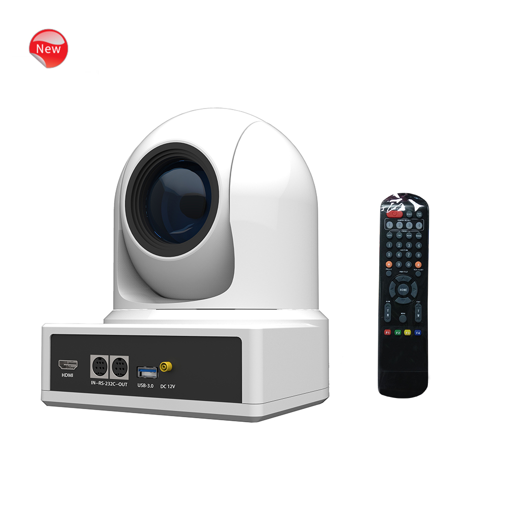 Professionele IP PTZ volledige 720 p/1080 p HD hdmi USB 3.0 video conference camera met 20x zoom en 60fps hoge frame rate