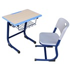 used student desks school furniture school plastic student desk and chair for kids fixed school desk