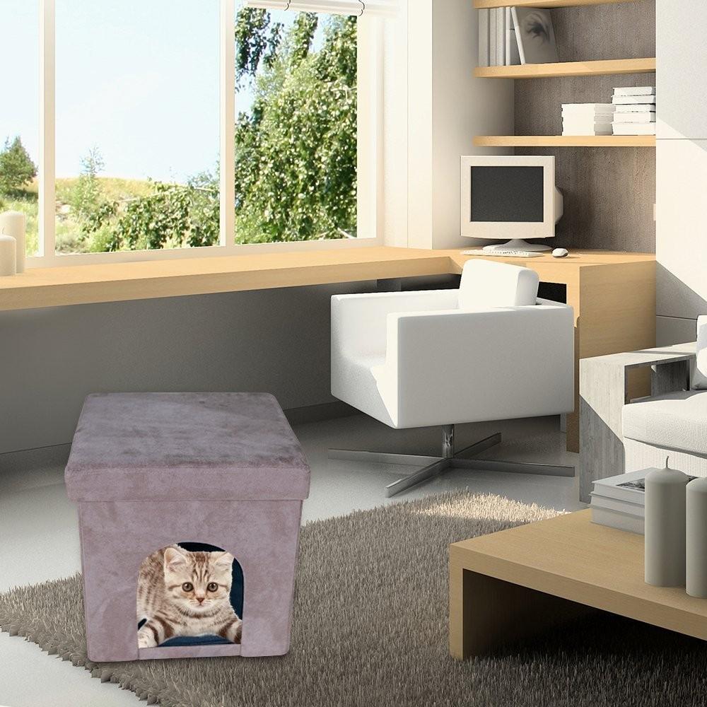 Encantador Muebles De Almacenamiento Otomana Círculo Fotos - Muebles ...