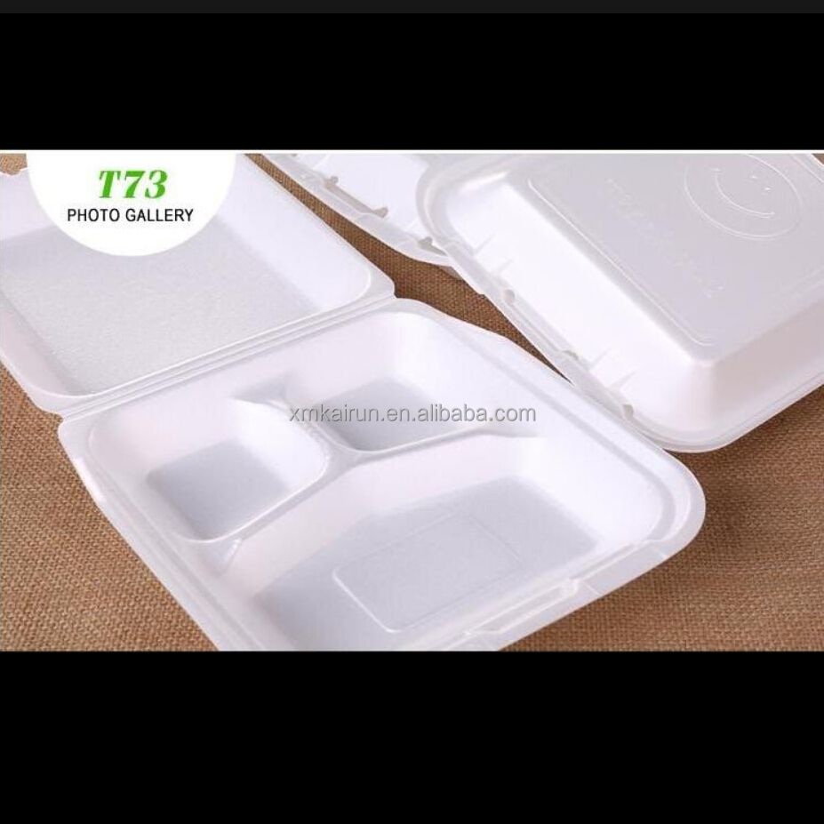 lunch box Foam food container chinese food box with divider