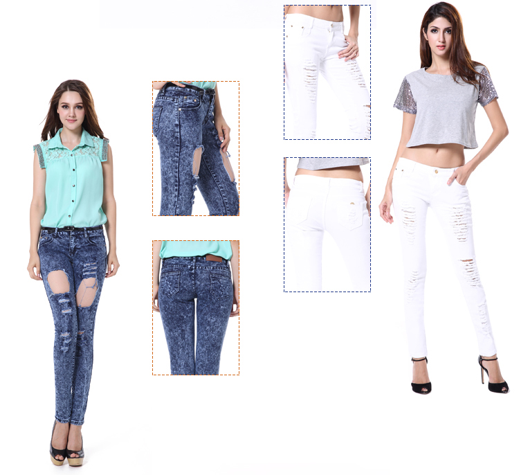 Jeans Above Knee New Model Jeans Latest Design Women Jeans