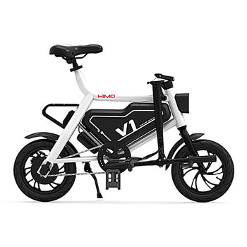 4868aa4f77b Original Xiaomi Electric Bike HIMO V 1 electric power portable smart  folding 12inch bike lithium battery