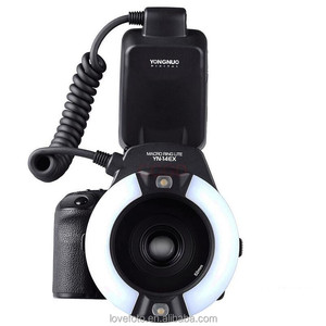 YongNuo YN-14EX YN14EX TTL Macro Ring Flash with Adapter Ring for Canon EOS DLSR 550D 650D