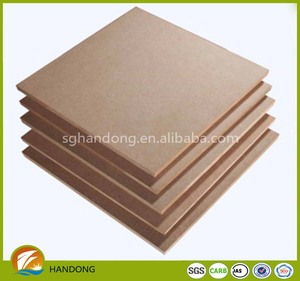 1220x2800x16mm big size raw MDF iran, plain mdf pannels with high density for IRAN market