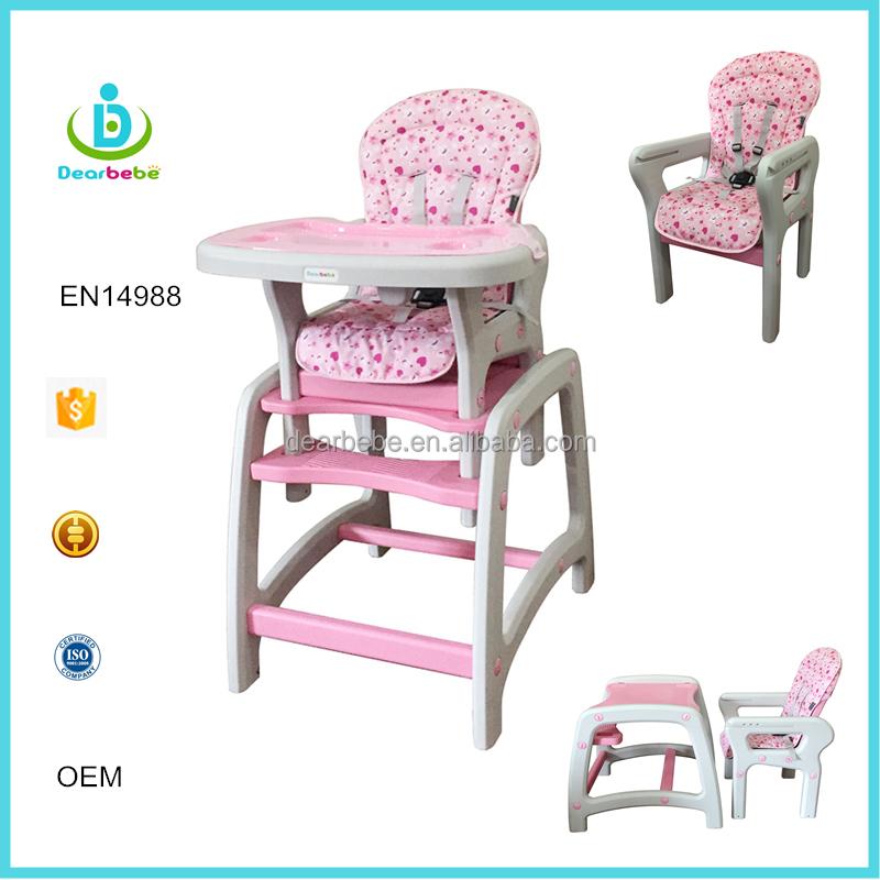 EN14988 Colorido Plástico Multifuncional Silla Para Niños Mesa de ...