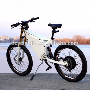 Fastest Electric Bike >> Super Power Electric Bicycle 5000w Stealth Bomber Electric Bike The