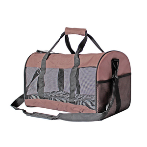 EP0299 Wholesale Folding Soft Side Pet Travel Tote Bag Dog Carrier