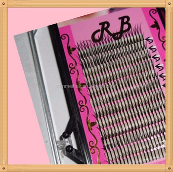 Wholesale Silk Eyelash Extension Two Pac Per Strands Flare ...