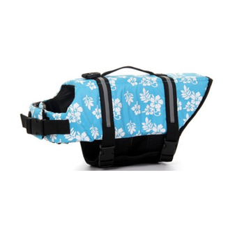 Adjustable Reflective Swimming Pet Dog Life Jacket, Float Coat Saving para perros Dog Vest, Summer Safety Dog Life Jacket