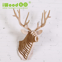 Deer Themed Ornament Home Decor Animal Shape Crafts In Other Home Decor