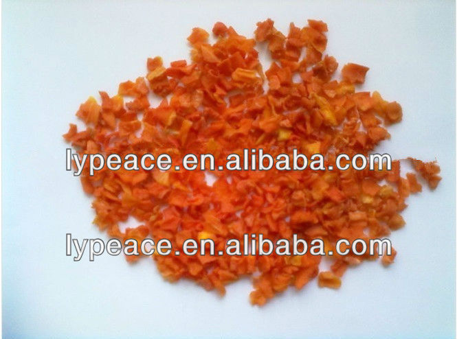dehydrated carrot dice for world market