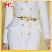Spring and summer fashion metal ladies dress waist chain belt with wild stretch