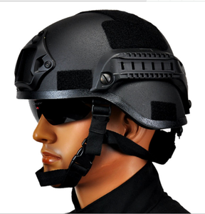 SD25 MICH 2000 Style ACH Tactical Helmet with NVG Mount and Side Rail