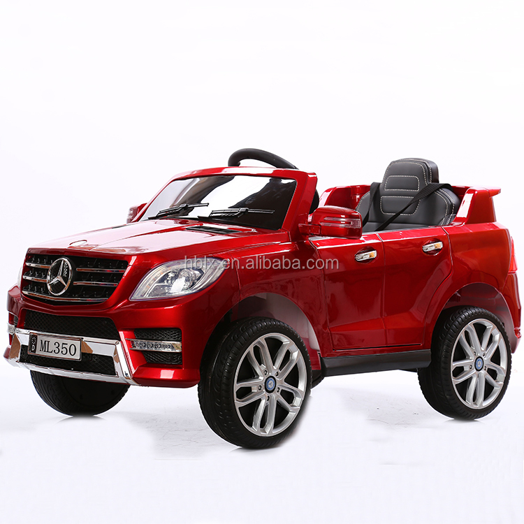 Licensed Mercedes Benz ML350 kids battery powered MP3 2.4G bluetooth remote control ride on car