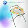 Cheapest Price Folding Commode Chair with Bedpan